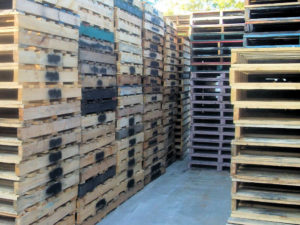 Used 2 Tonne Standard Pallets at our Sydney location